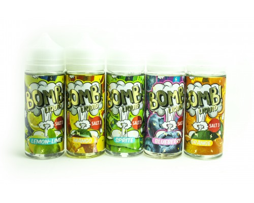 Жидкость BOMB! Liquid 120ml ORiGiNAL (by COTTON CANDY) Salt nicotine